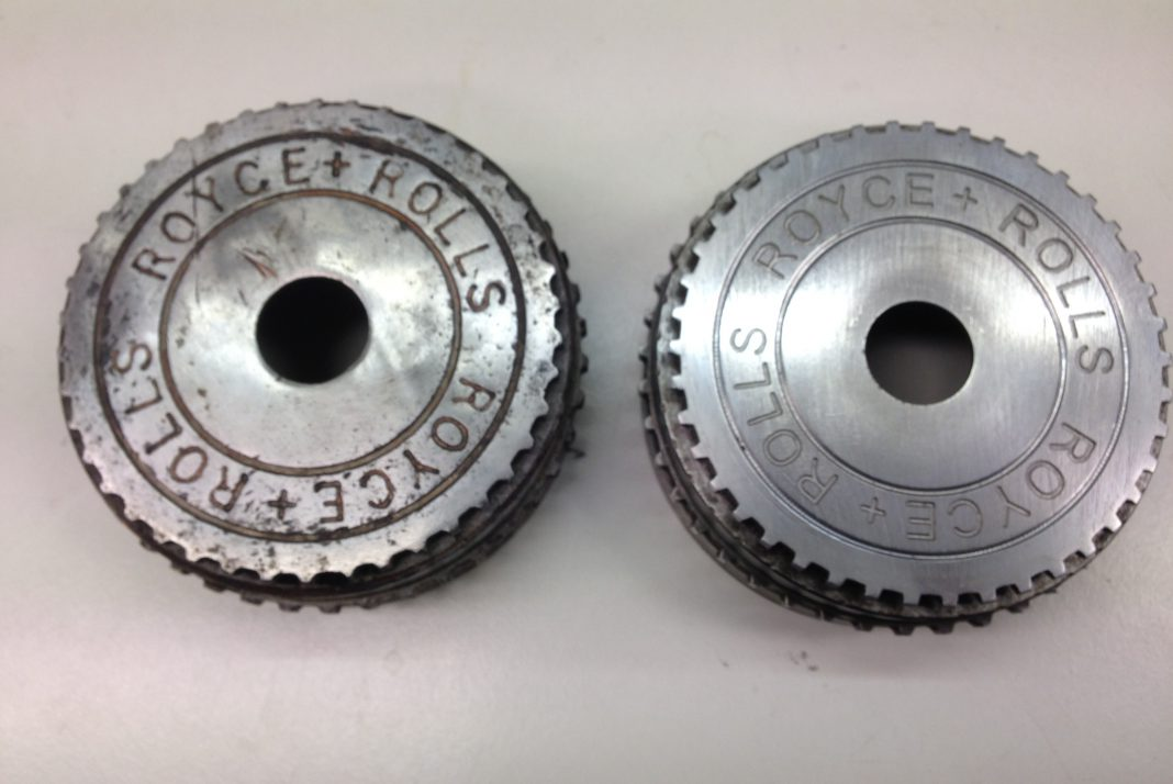 Engraved Replacement Roll Royce Sprockets